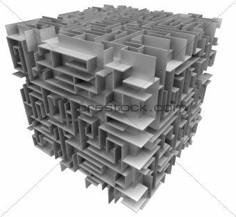 cube maze