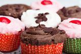 Cupcakes Closeup