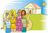 women meeting