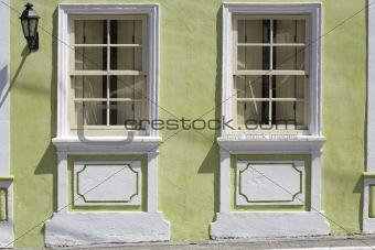 Portuguese Windows and Lamp