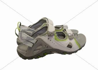 Pair of sport sandals