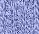 Blue knitted background