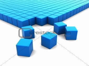 cubes construction