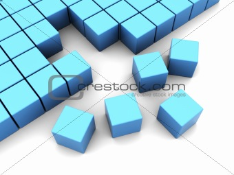 cubes construction