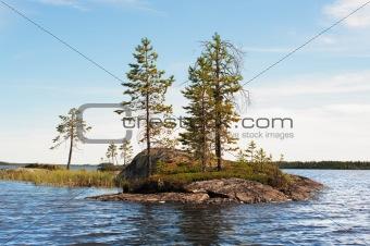 Small rocky island