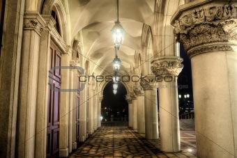 Old corridor