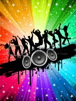 Image 3006140 Grunge Party Background From Crestock Stock