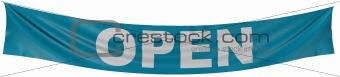 """""""open"""" banner"""