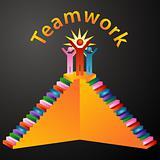 Teamwork Stairs