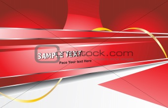 abstract vector design template