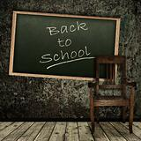 "grunge theme ""Back to school!"""
