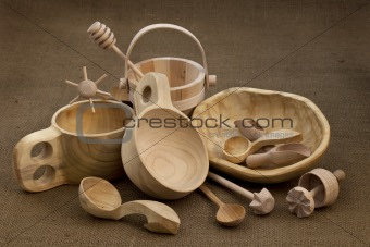 folk wood craft from Poland