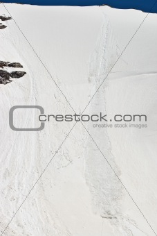 Avalanche track