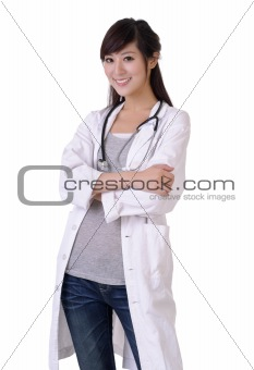 Friendly medical doctor