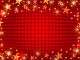 Christmas background with dots