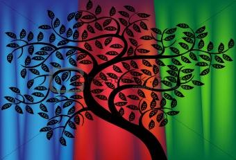 Tree - curtain