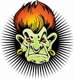 Flaming Haired Troll