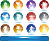 Trophy Buttons