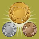 Coin Medals with Background