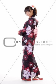 Attractive Japanese woman