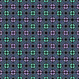 Seamless geometric color pattern.