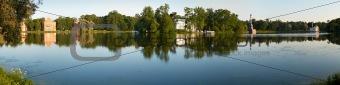 Catherine park in Tsarskoye Selo