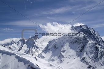 Caucasus. Mount Dombai-Ulgen.