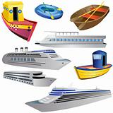 Boat Icon Set