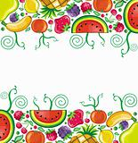 Fruity card series