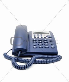 Business phone close up