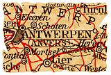 Antwerp old map