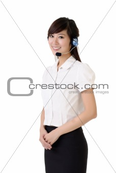 Asian customer service