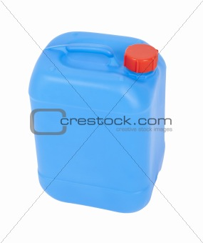blue canister