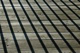 Shadows on the wood floor