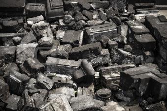Prambanan rubble