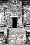 Front door of a Hindu temple