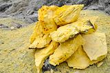 Sulphur stones