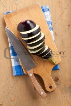 slices of eggplant