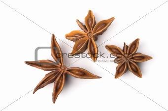 Three anice stars