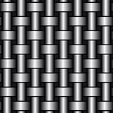 Turned metal cylinders. Vector