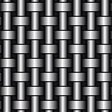 Turned metal cylinders. Vector