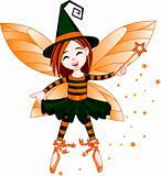Halloween cute fairy