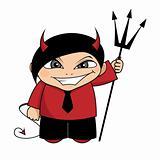 Devil boy.