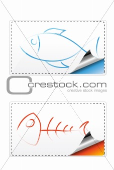 fishy sticker