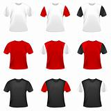 Vector t-shirts