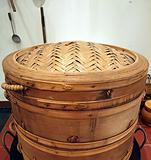 Old Bamboo Steamer