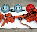 Rappel or Abseil Equipment