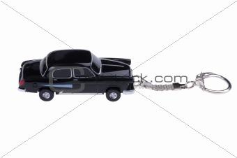 flash car isolated on white background