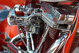 V-2 bike engine