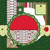 Christmas backgrounds and design elements